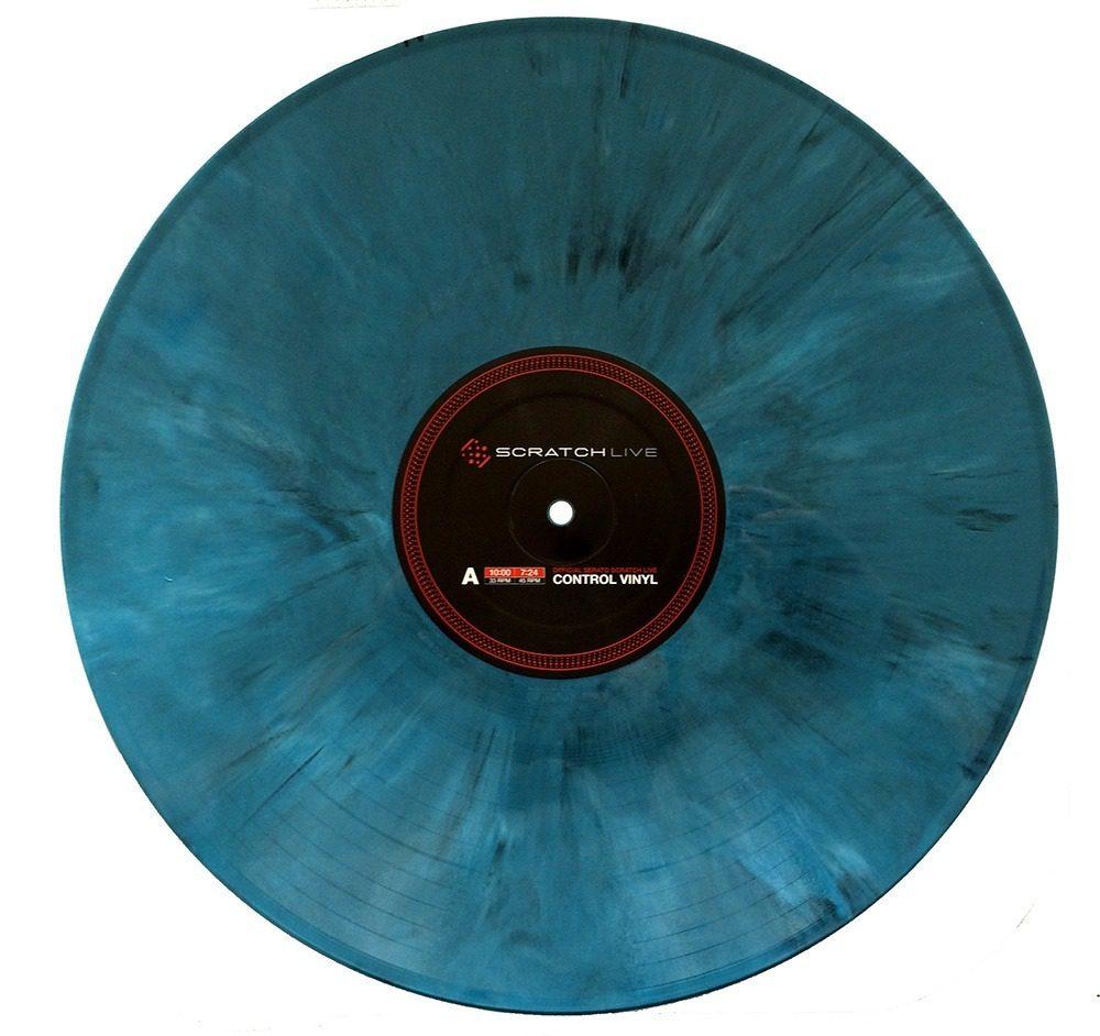 Serato Control Vinyl Blue Marble Limited Dj S Dream Customs