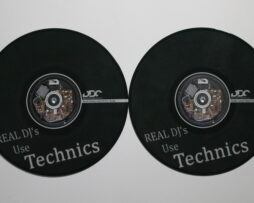 DDC Limited Custom Serato Control Vinyl Real DJ'S USE TECHNICS Black Bild 01