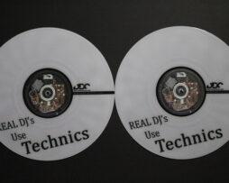 DDC Limited Custom Serato Control Vinyl Real DJ'S USE TECHNICS White Bild 01