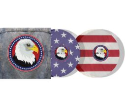 "Serato 2x12"" USA Country limited Control Vinyls inkl. Slipmats1"